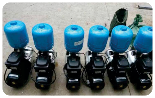 Компактный ПЧ для бытовых насосов