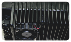 Особое строение канала охлаждения для эффективного отвода тепла